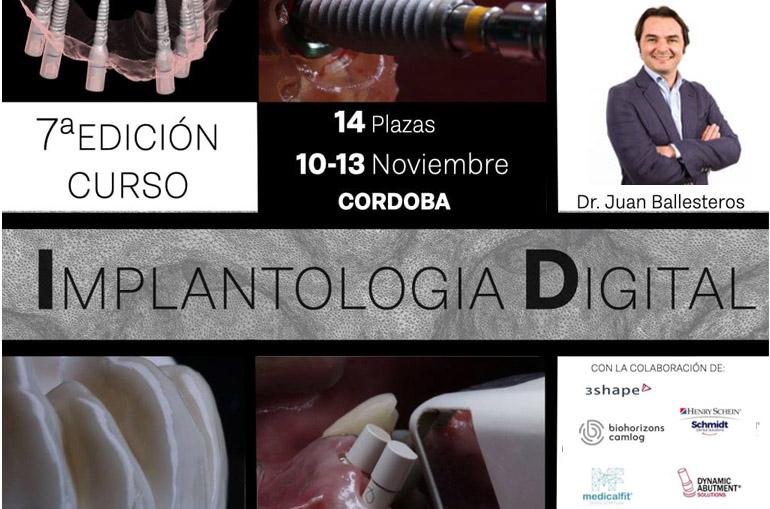curso de implantología digital. Juan Ballesteros, protocolos Medicafit
